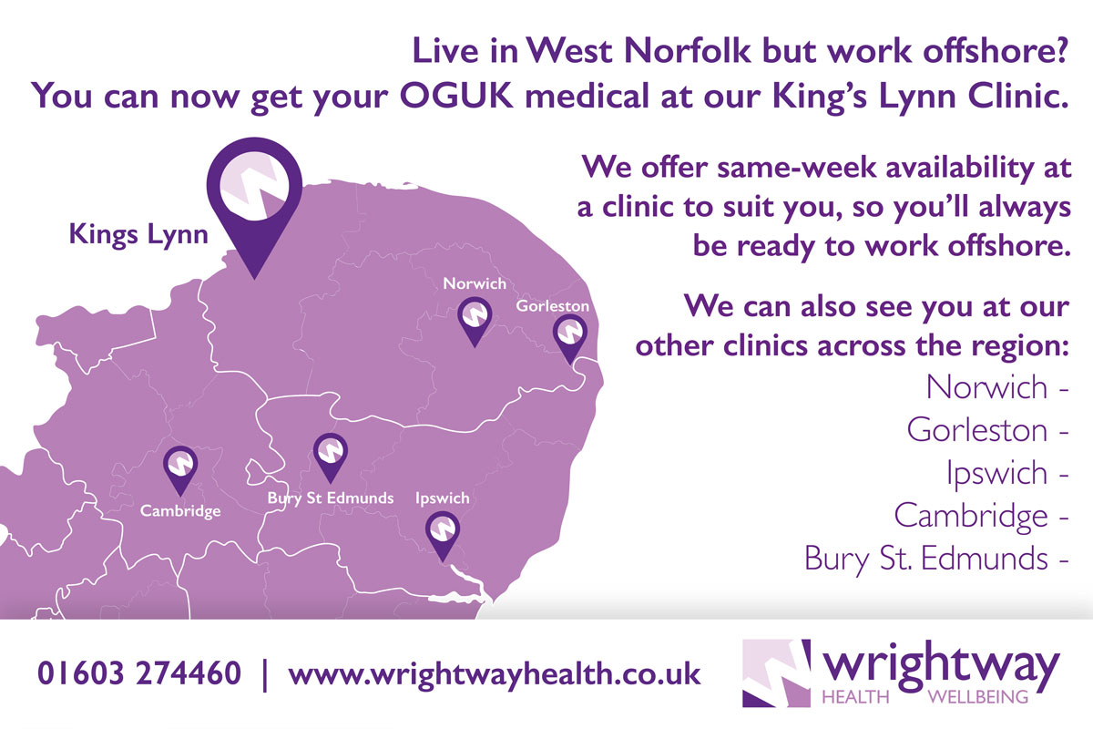 OGUK medicals in King's Lynn